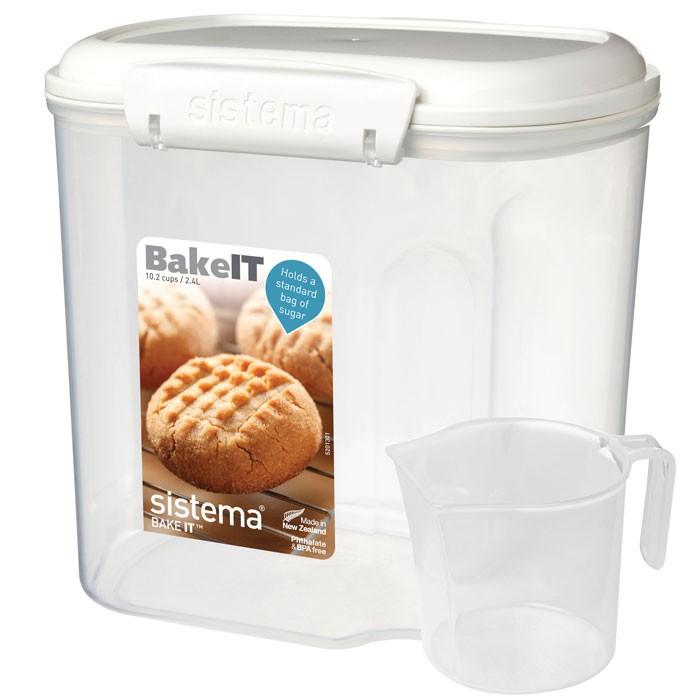 Картинка для Контейнеры для еды Sistema Bake-It Контейнер с чашкой 2,4 л