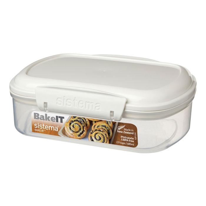 Фото - Контейнеры для еды Sistema Bake-It Контейнер 685 мл контейнеры для еды sistema контейнер квадратный 591 мл