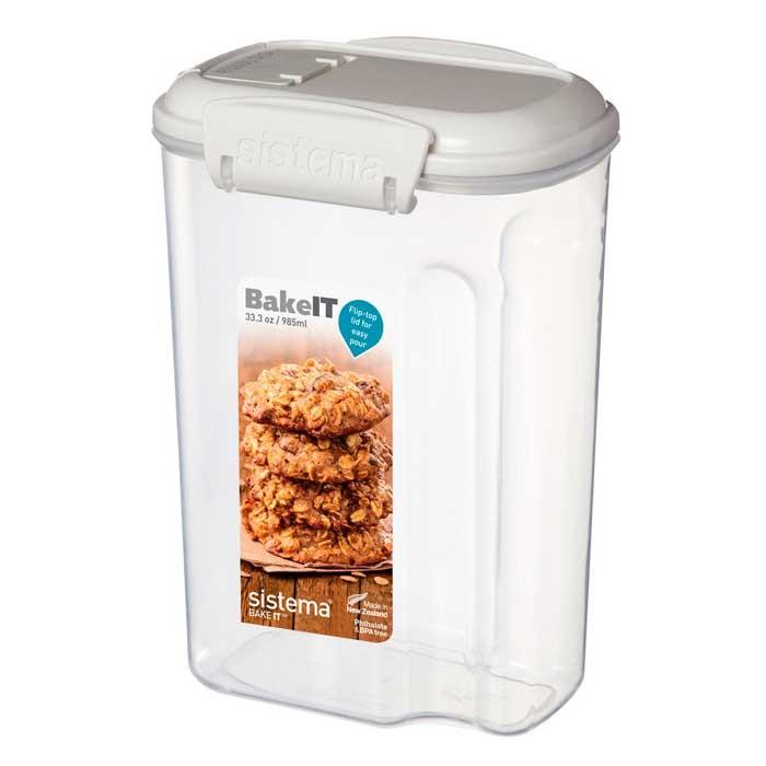 Фото - Контейнеры для еды Sistema Bake-It Контейнер 985 мл контейнер 685мл sistema bake it