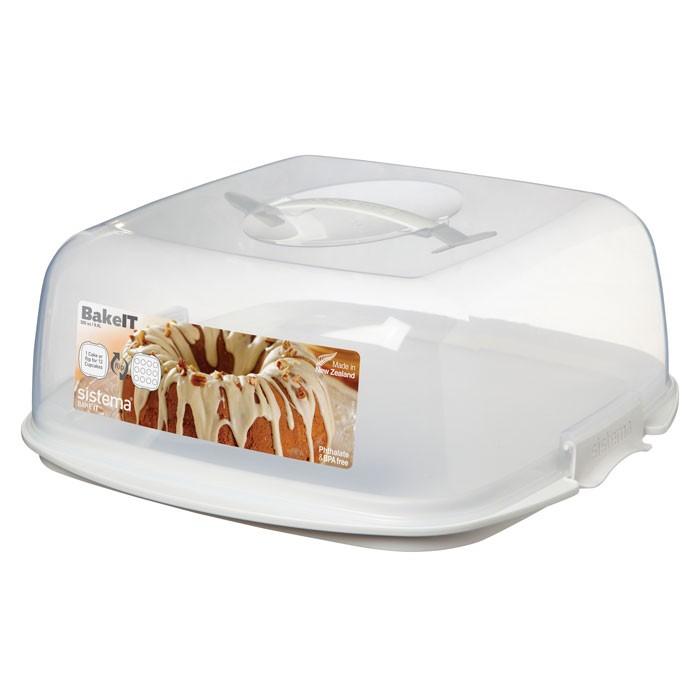 Фото - Контейнеры для еды Sistema Bake-It Контейнер для торта 8,8 л контейнеры для еды sistema контейнер квадратный 591 мл