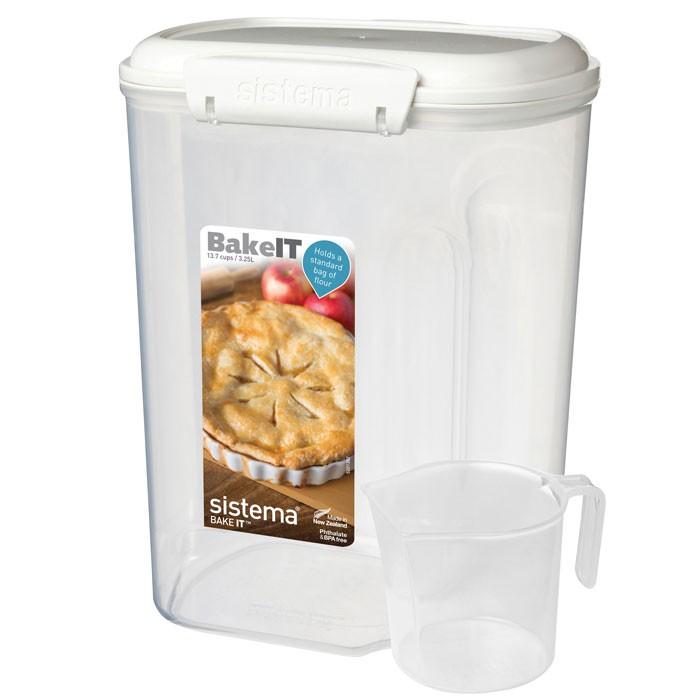 Контейнеры для еды Sistema Bake-It Контейнер с чашкой 3,25 л