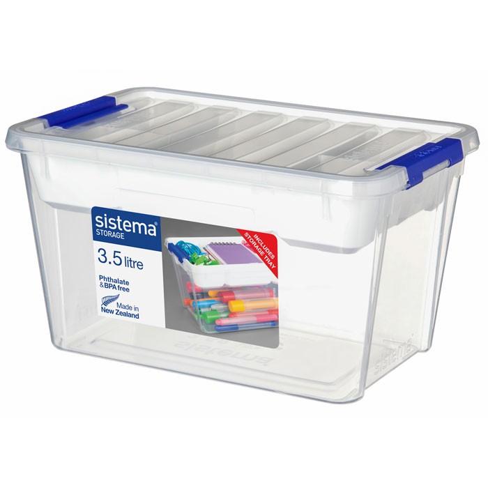 Картинка для Ящики для игрушек Sistema Контейнер 3,5 л