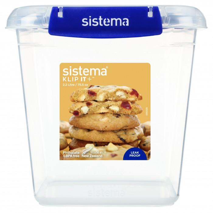 контейнер для печенья sistema 1 8 л 1333 Контейнеры для еды Sistema Контейнер для печенья 2.2 л