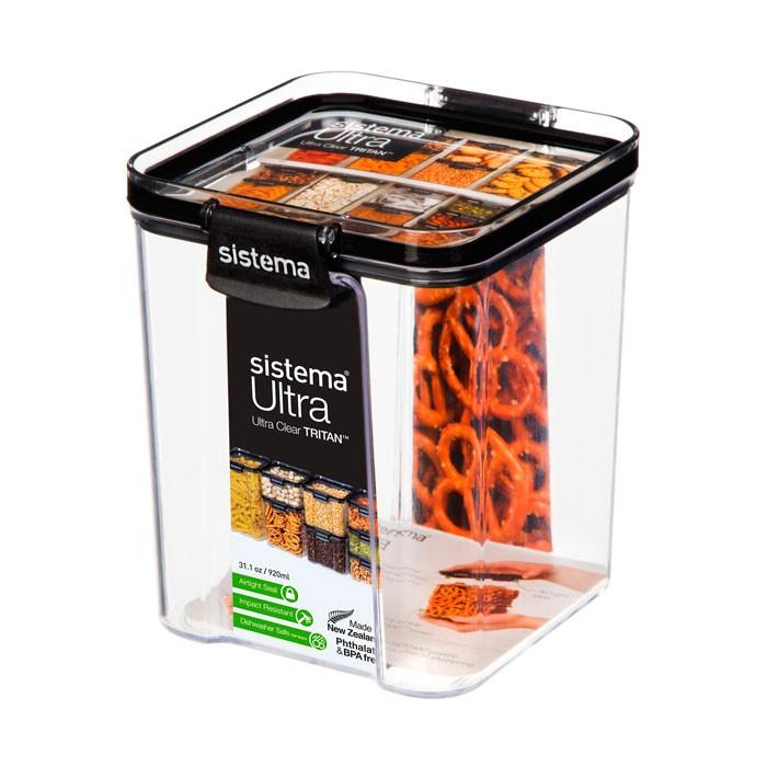 Фото - Контейнеры для еды Sistema Контейнер квадратный тритан 920 мл контейнеры для еды sistema контейнер квадратный 591 мл
