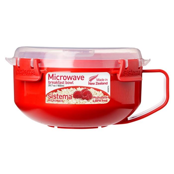 Картинка для Контейнеры для еды Sistema Microwave Чаша для завтрака 850 мл