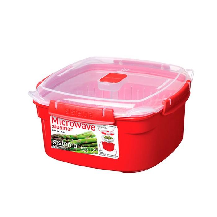 Купить Контейнеры для еды, Sistema Microwave Контейнер 2, 4 л