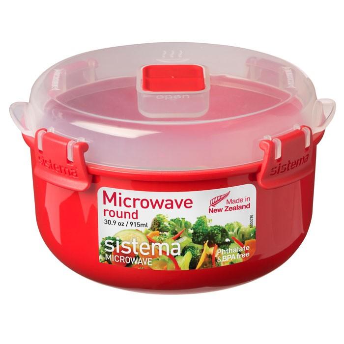 Картинка для Контейнеры для еды Sistema Microwave Контейнер круглый 915 мл