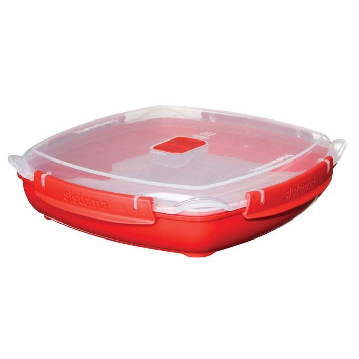 Купить Контейнеры для еды, Sistema Microwave Контейнер низкий 1, 3 л