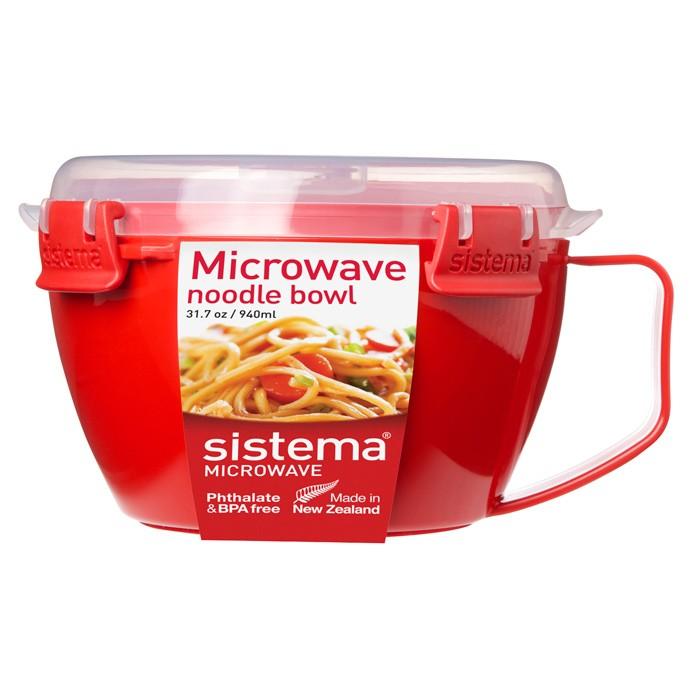 Купить Контейнеры для еды, Sistema Microwave Кружка для лапши 940 мл