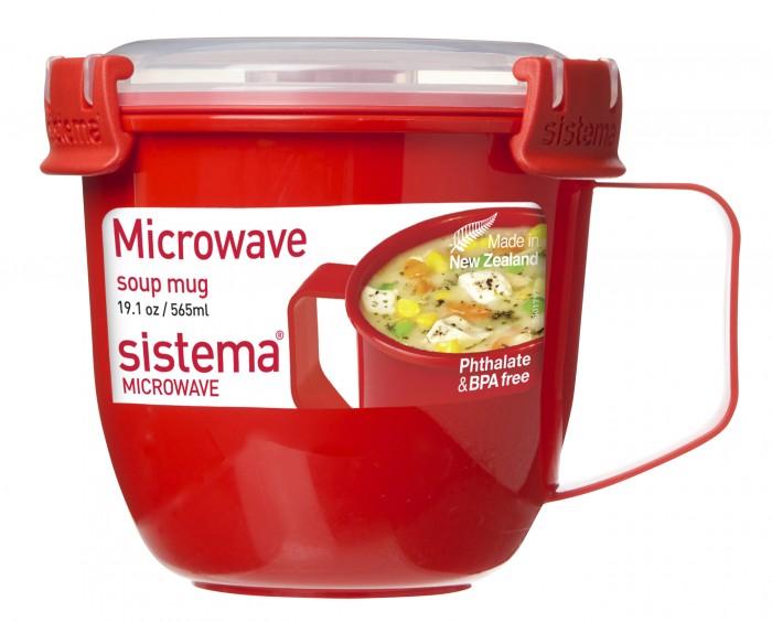 Картинка для Контейнеры для еды Sistema Microwave Кружка суповая 565 мл