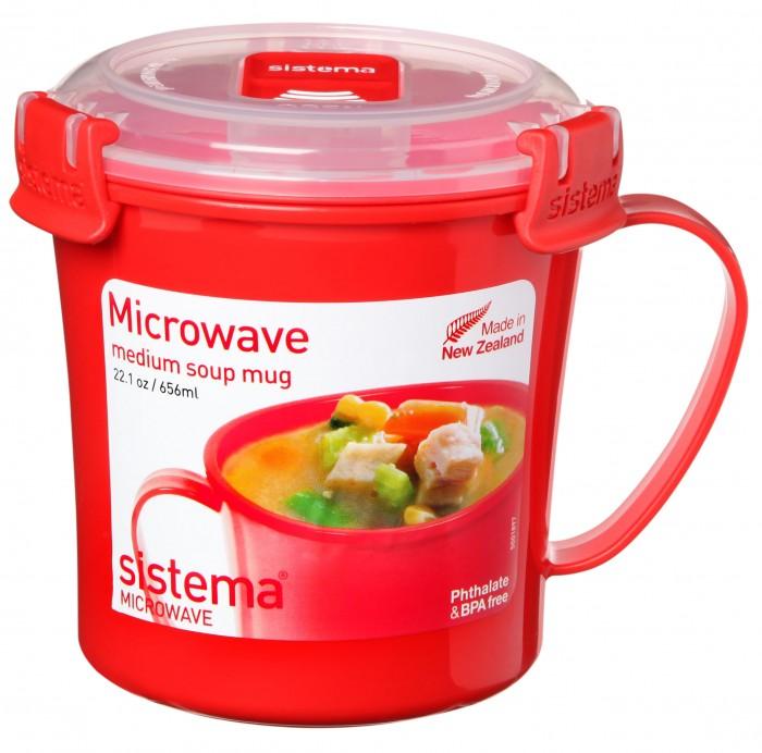 Картинка для Контейнеры для еды Sistema Microwave Кружка суповая 656 мл