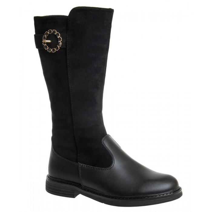 сапоги для девочки лель цвет черный м 4 1139 размер 37 Сапоги Сказка Сапоги для девочки R516036217