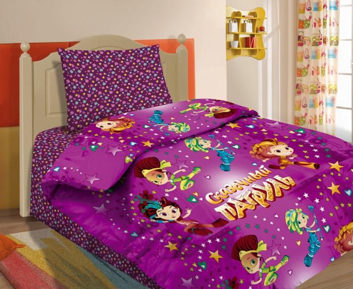 Купить Постельное белье 1.5-спальное, Постельное белье Сказочный Патруль c наволочкой, 70х70 (3 предмета)