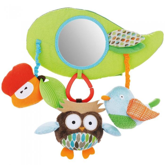 Подвесная игрушка Skip-Hop Stroller Bar ToyStroller Bar ToyПодвесная развивающая игрушка Skip-Hop Stroller Bar Toy для детей с рождения. Крепится липучками на бампер коляски или ручку автокресла гр. 0/0+. Включает 8 развивающих занятий для ребенка, включая безопасное зеркальце.<br>