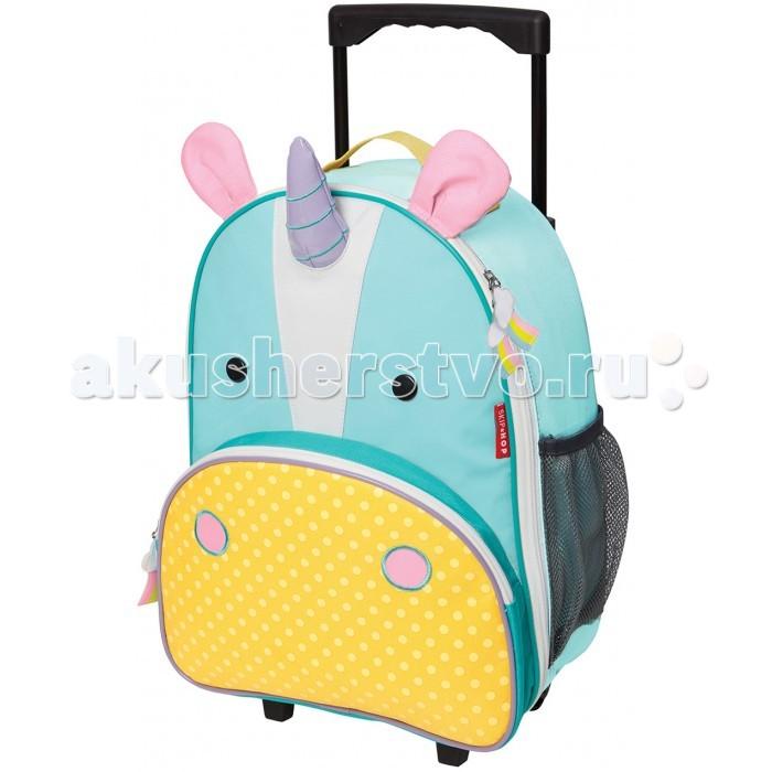 Мягкая игрушка Folkmanis Обезьянка 25 см Skip-Hop Детский дорожный чемодан Zoo Luggage  (2123)