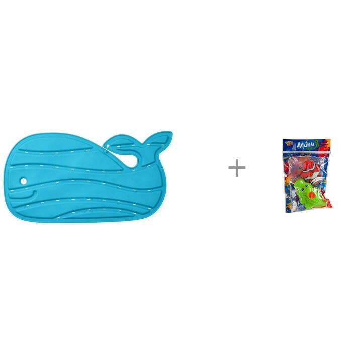 Купить Коврики для купания, Коврик Skip-Hop для купания Китенок и Yako МиниМания игрушки-брызгалки в ванну Н85571