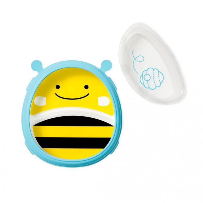 Картинка для Skip-Hop Тарелка 2 в 1 Пчела