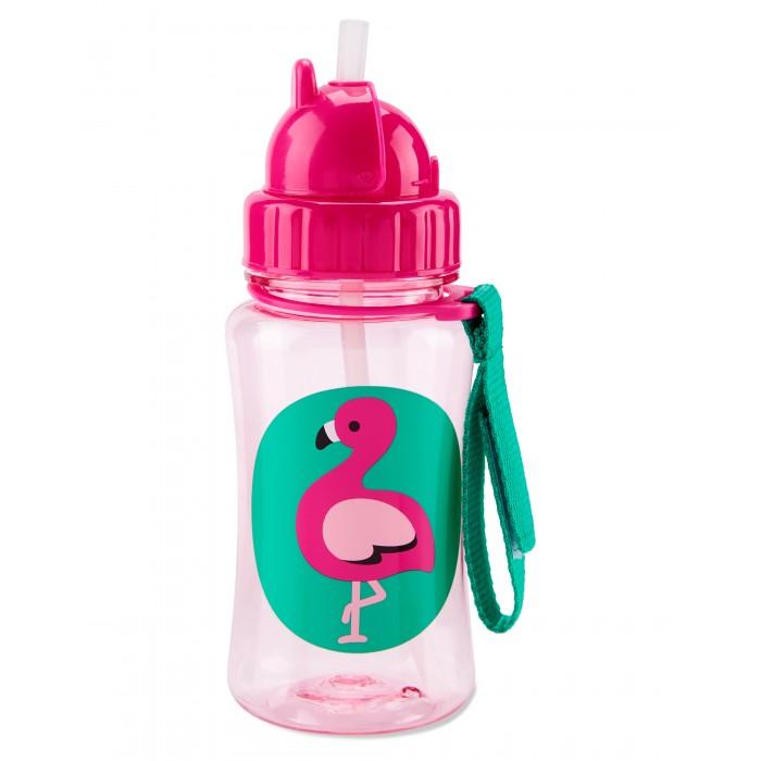 поильники Поильники Skip-Hop Zoo Straw Bottle 350 мл