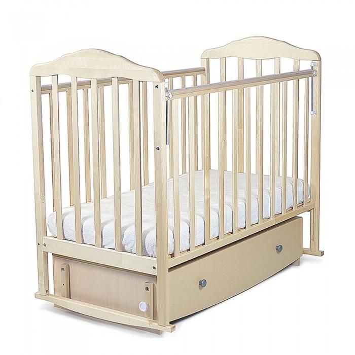Детская кроватка СКВ Компани Березка маятник продольный с ящиком