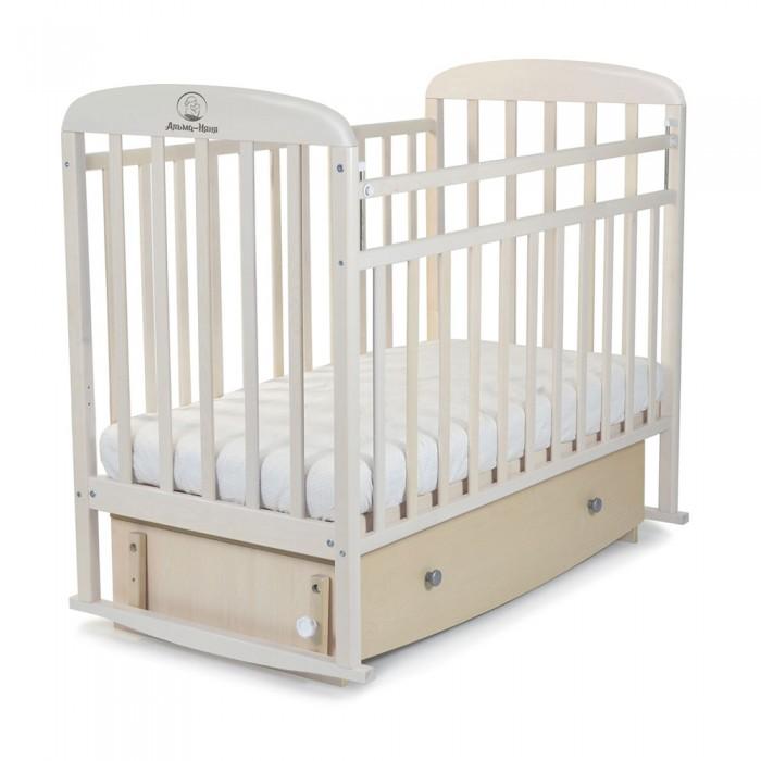 Детская кроватка СКВ Компани Милана маятник поперечный с ящиком