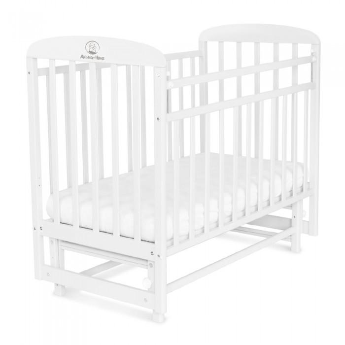Купить Детские кроватки, Детская кроватка СКВ Компани Милана маятник поперечный