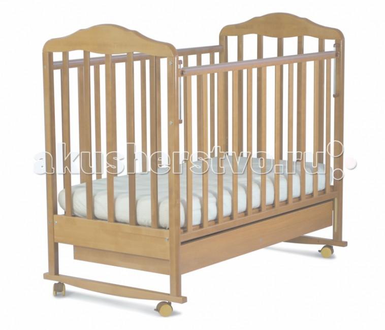 Детская кроватка СКВ Компани Березка 12111 качалка с ящиком