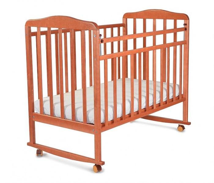 Детские кроватки СКВ Компани Митенька (качалка) обычная кроватка скв компани 231119 слоновая кость