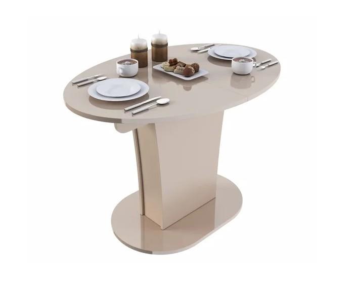 Slayn Стол раскладной Turin (овальный) Глянец
