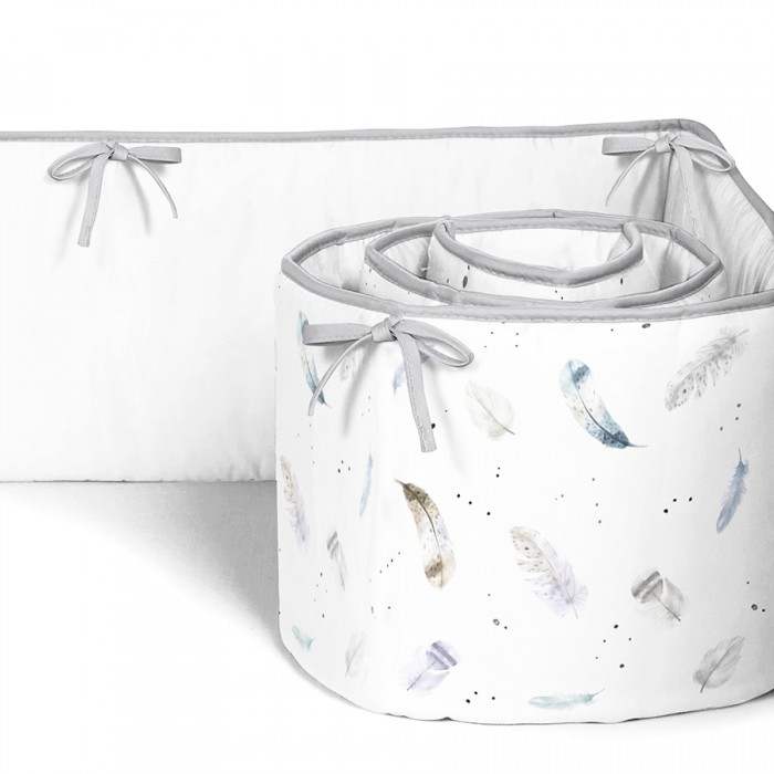 Бортик в кроватку BamBola Птички 360х40 см (4 детали)