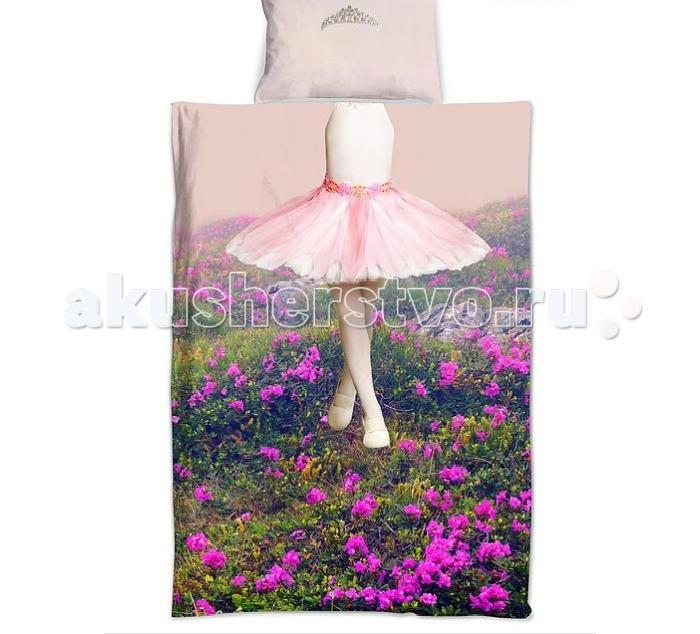 Постельные принадлежности , Постельное белье 1.5-спальное Sleep & Smile Балерина 1,5-спальное арт: 434359 -  Постельное белье 1.5-спальное