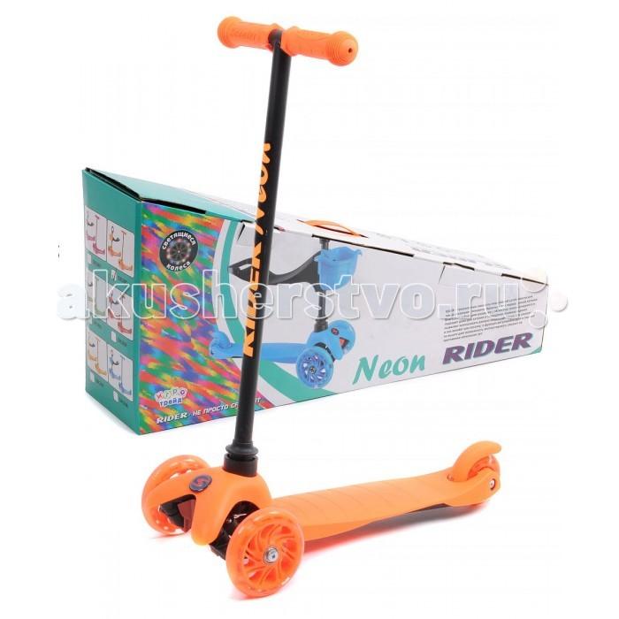 Купить Трехколесные самокаты, Трехколесный самокат Slider Rider Neon