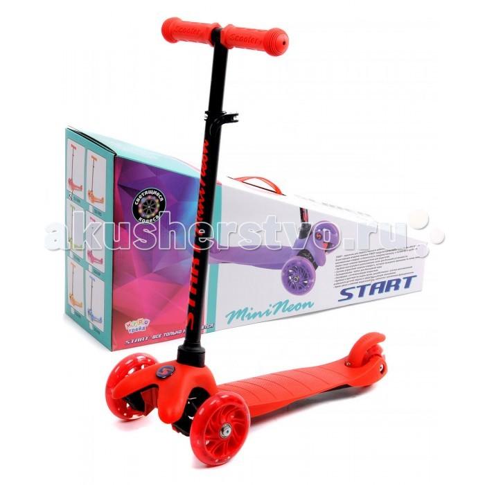 Трехколесный самокат Slider Start MiniNeon