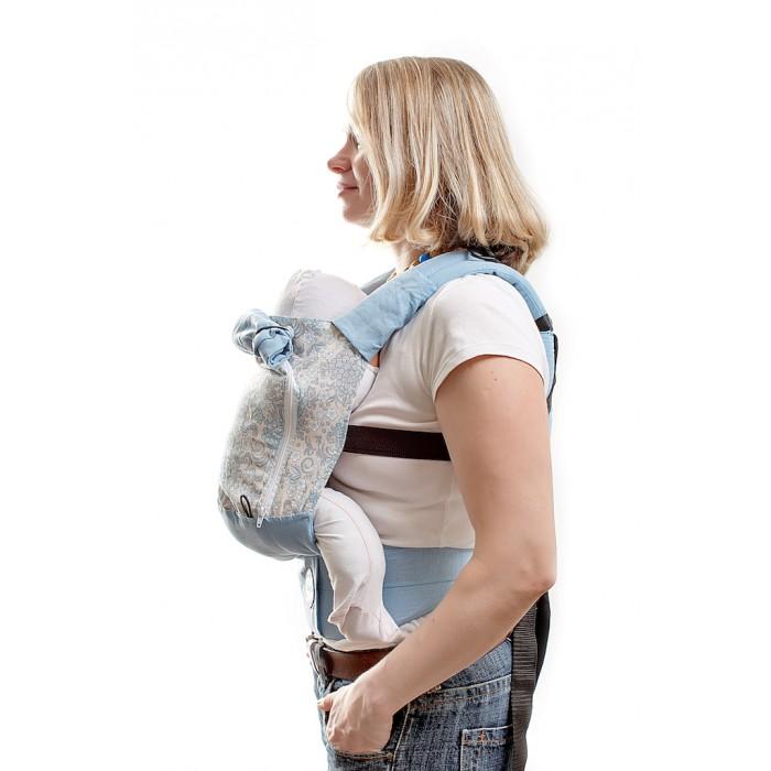 Рюкзак-кенгуру SlingMe эргономичный AIR (лен) фото
