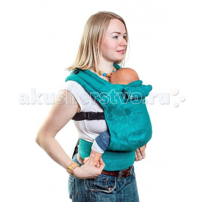 Товары для мамы , Рюкзаки-кенгуру SlingMe эргономичный Эко серия Лен арт: 300139 -  Рюкзаки-кенгуру