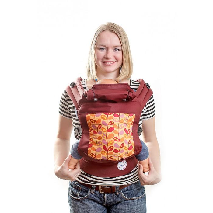 Рюкзак-кенгуру SlingMe эргономичный Классик (хлопок/полиэстер) фото