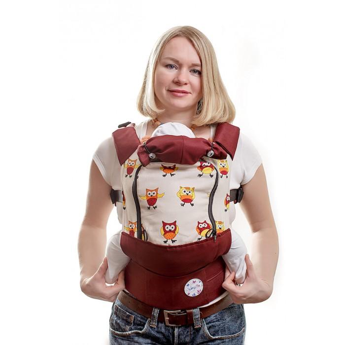 Рюкзак-кенгуру SlingMe эргономичный AIR (лен/полиэстер)
