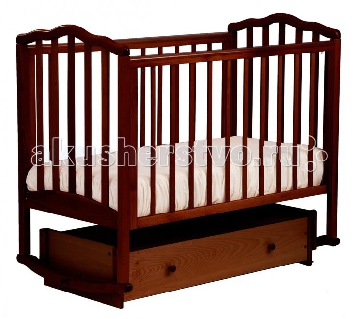 Детские кроватки Кубаньлесстрой АБ 19.4 Жасмин маятник универсальный с ящиком детские кроватки фея 603 с ящиком