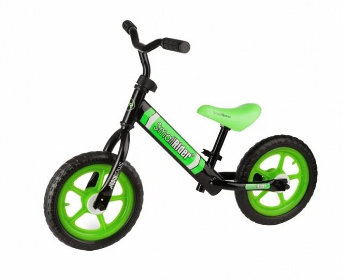 Беговел Small Rider Tornado 2Беговелы<br>Small Rider Беговел Tornado 2. Small Rider предлагает великолепное сочетание цены и качества. Работая над беговелом команда инженеров Small Rider постаралась объединить необходимые для отличного катания и балансирования опции в сочетании с невероятно привлекательной ценой.  Преимущества: Очень низкая цена; Самая доступная модель Small Rider; Яркие цвета; Сиденье и руль регулируются по высоте; Сиденье регулируется без ключа; Небольшой вес; Практичные ПВХ-колеса; Удобный руль и рукоятки; Гарантия 12 месяцев. Основные характеристики: Вес - 2.5 кг Вес с коробкой - 3.2 кг Длина беговела - 83 см (от колеса до колеса) Ширина беговела - 43 см (по рулю)  Высота беговела - 42 см (макс.высота сиденья)  Регулировка высоты сиденья - есть, без ключа  Минимальная высота сиденья от пола - 29 см  Максимальная высота сиденья от пола - 42 см Регулировка руля по высоте - есть, с ключом Ширина руля - 43 см Ширина рукояток - 9 см Размер колес - 12 дюймов  Материал колес - ПВХ (EVA)