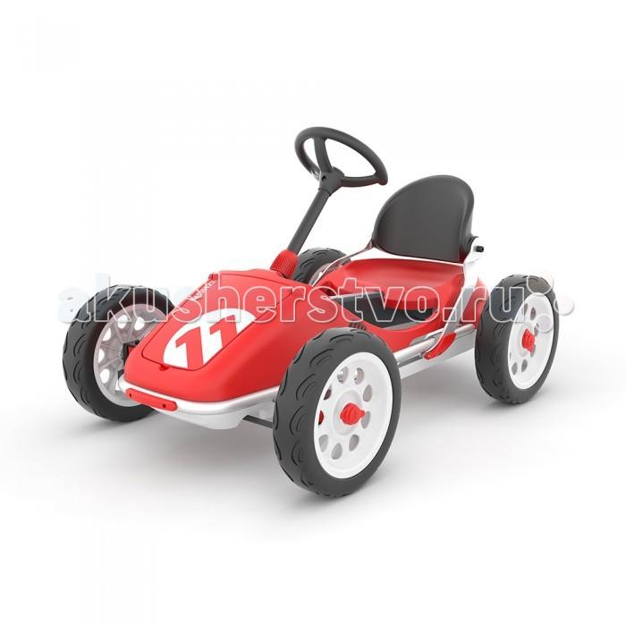 Детский транспорт , Педальные машины Chillafish Детский педальный веломобиль-картинг Monzi EVA арт: 491561 -  Педальные машины