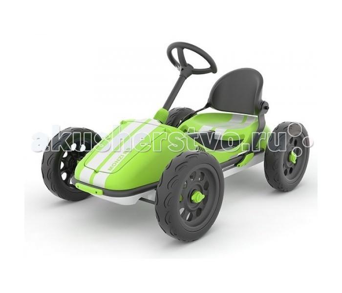Детский транспорт , Педальные машины Chillafish Детский педальный веломобиль-картинг Monzi RS арт: 491551 -  Педальные машины