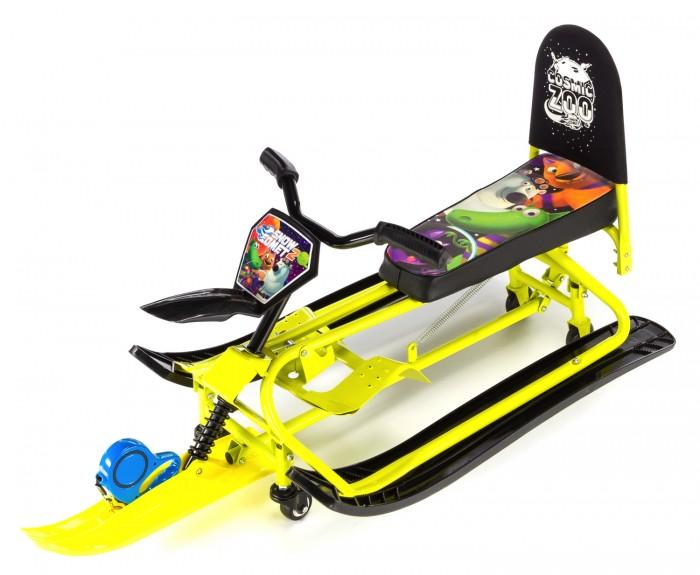 Купить со скидкой Снегокат Small Rider Snow Comet 2 с колесами