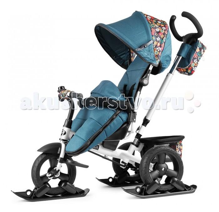 Детский транспорт , Трехколесные велосипеды Small Rider Утепленный вездеходный Discovery CR с лыжами арт: 403649 -  Трехколесные велосипеды