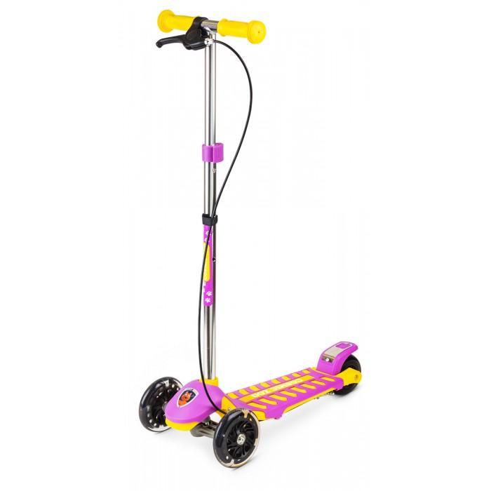 Купить Трехколесные самокаты, Трехколесный самокат Small Rider Galaxy (светящиеся колеса и ручной тормоз)