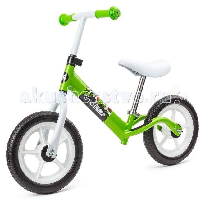Беговел Small Rider FriendsFriendsДетский велобег (беговел) Small Rider Friends стал еще красивее (появилось нарядное белое седло) лучше и вдвойне универсальнее! По просьбам многих вернули колеса из вспененного ПВХ, которые не пахнут резиной, не прокалываются и их не нужно подкачивать. Кроме того, постарались сделать данный велобег более легким (ПВХ колеса гораздо легче надувных). В итоге общий вес составляет всего 2.9 кг. Яркий и запоминающийся дизайн модели Фрэндс как всегда притягивает своей привлекательностью и веселым настроением. Смолл Райдер Фрэндс является практически идеальным сочетанием доступной цены, дизайна, достаточной легкости и маневренности.  Особенностью новой поставки велобегов Friends стало наличие оптимального по длине седла - 24 см, что позволяет его использовать для широкого возрастного диапазона: детей от 2 до 5 лет! При этом трубка седла в нижнем положении не мешает езде и не задевает о поверхность. Он удобен как для совсем маленьких детей (2 года и более) и в нижнем положении ребенок точно достанет ножками до пола, так и для детей постарше. Даже 4-летнему ребенку будет удобно на нем кататься. То есть Вы можете купить велобег, на котором Ваш малыш будет ездить 3 года!  Но и это еще не все - чтобы малышам быстро не надоел внешний вид с разных сторон наклеены различные стикеры, чтобы он всегда смотрелся немного по-новому и не надоедал.  С одной стороны Friends на белом фоне, а с другой - Small Rider на темном фоне. Веселые рожицы на стикере из фирменной коллекции поднимут настроение.  А если у Вас двое мальчиков или двое девочек, то они захотят такой же детский велобег как у брата или сестры. Чтобы малыши не обижались и не дрались, а модели от 2-3 лет не были однообразные и скучные - мы придумали зеркальные пары цветов, чтобы дети на них смотрелись как настоящий ансамбль из двух катающихся, а может быть и целой компании на прогулке! Все малыши на ярких, дополняющих друг друга комбинированных Фут Рейсер Фрэндс!  Размер 72х15х32 см.<br>