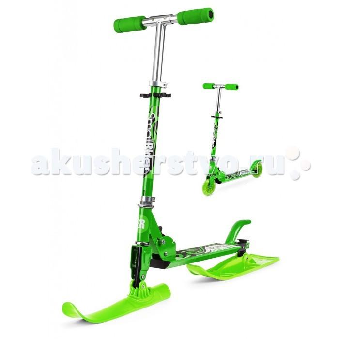 Самокат Small Rider Самокат с лыжами и колесами Combo Runner 2 в 1