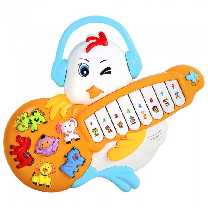Купить Музыкальные инструменты, Музыкальный инструмент Smart Baby Пианино обучающее Цыпленок 42 звука