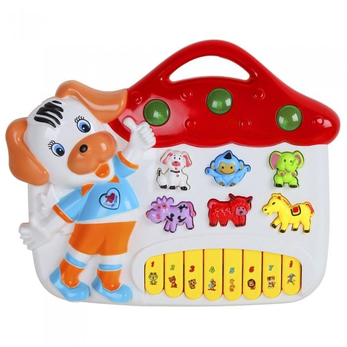 Купить Музыкальные инструменты, Музыкальный инструмент Smart Baby Пианино обучающее Домик 42 звука