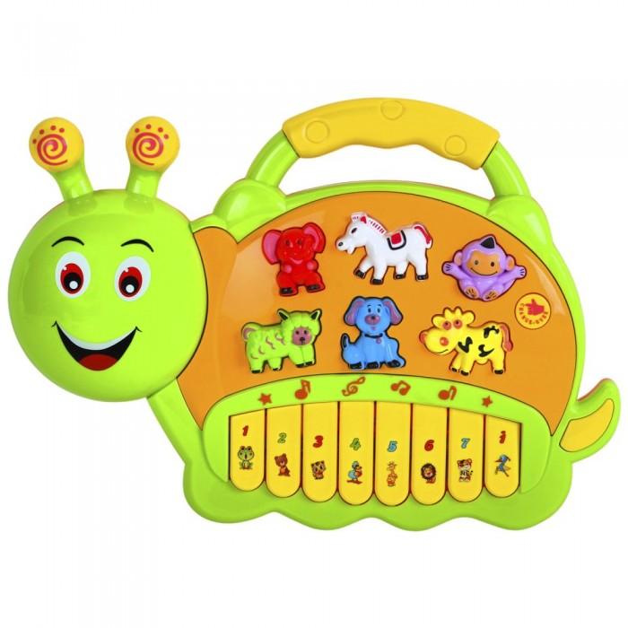 Купить Музыкальные инструменты, Музыкальный инструмент Smart Baby Пианино обучающее Гусеница 42 звука