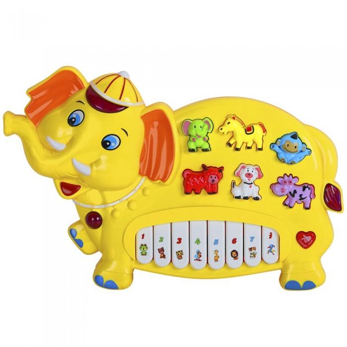Купить Музыкальные инструменты, Музыкальный инструмент Smart Baby Пианино обучающее Слон 42 звука