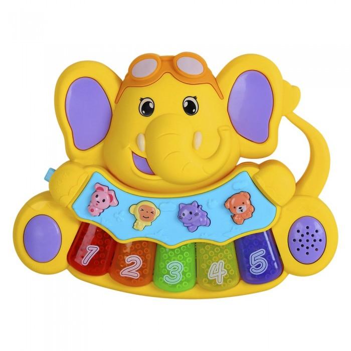 Купить Музыкальные инструменты, Музыкальный инструмент Smart Baby Пианино обучающее Слоненок 36 звуков
